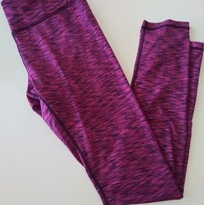 Reebok Sz Medium Athletic Leggings